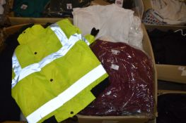 *80+ White Tops, 48 Maroon Top, and a Hi-Vis Coat