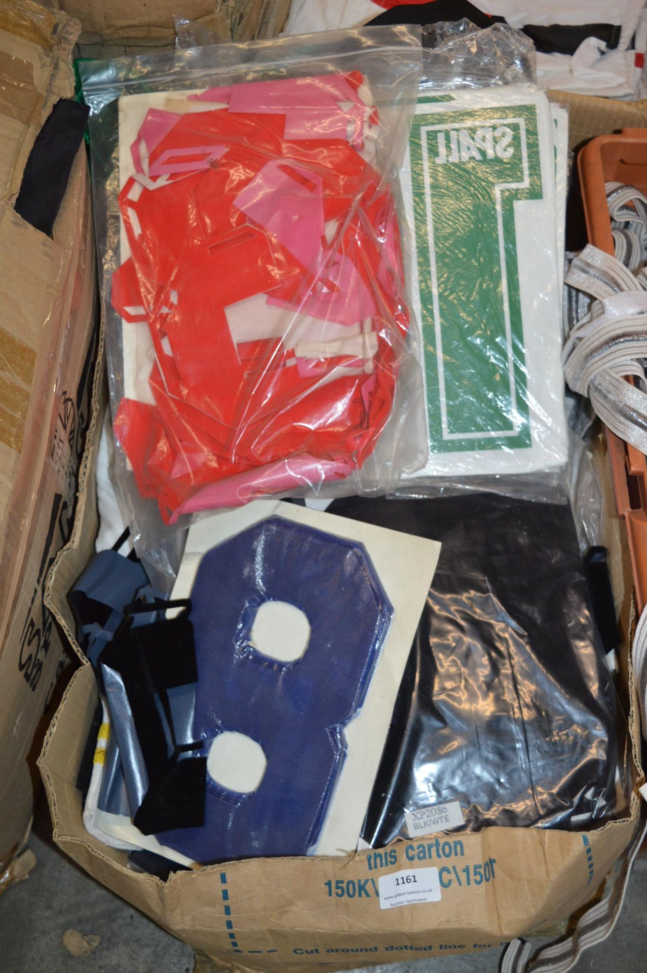 *Box of Iron-On and Transfer Numbers etc.