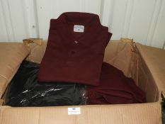 *~30 Assorted L, XL, and XXL Polo Shirts