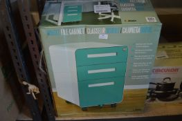 *Three Drawer Mobile Filing Cabinet