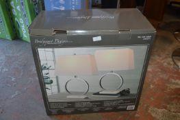 *Bridgeport Designs Table Lamps 2pk