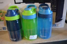 *3x Contigo Water Bottles