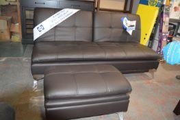 *Sealy Convertible Sofa Bad with Ottoman