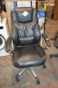 *Black Puresoft managers Chair
