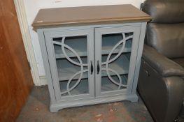*Grey Glazed Front Cabinet