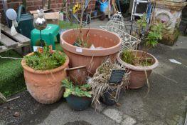 Six Garden Planters