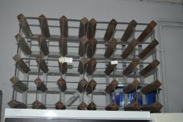 Two 12 Bottle Wine Racks