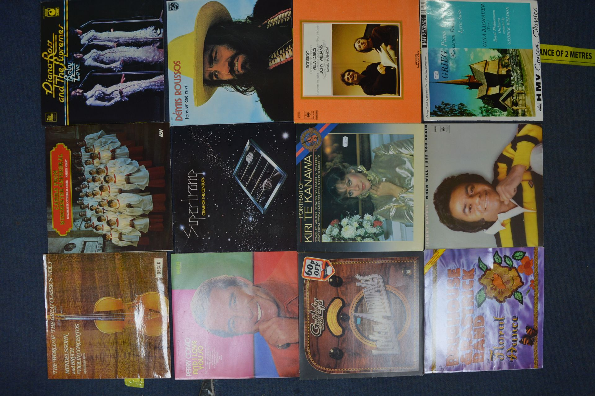Vintage LP Records; Jonny Mitchell, Santana, Mike - Image 2 of 6