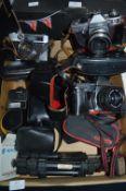 Vintage Cameras by Praktica and Rival, etc.