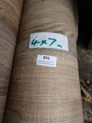 Roll of Wood Effect Lino 4x7m