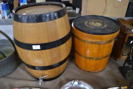 Sherry Cask and Ice Bucket