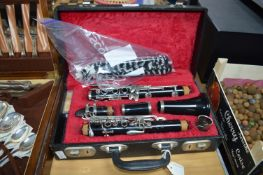 Boosey & Hawkes Clarinet with Case and Accessories