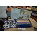 Vintage LP Records; Jonny Mitchell, Santana, Mike