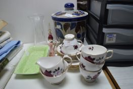 Pottery and Glassware