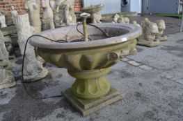 Granite Effect Resin Fountain