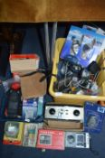 Two Boxes of Assorted Tools and Electrical Items