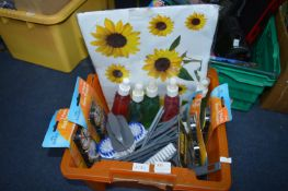 Cleaning Products, Brushes and Wheelie Bin Sticker