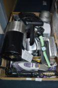 Electrical Items; Bosch Kettle, Irons, Hair Curler