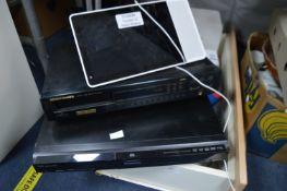 Marantz CD Player, Panasonic DVD Player, Digital P