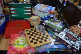 Assorted Games; Trivial Pursuit DVD Game, etc.