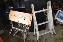 Black & Decker Workmate and Folding Aluminium Ladd