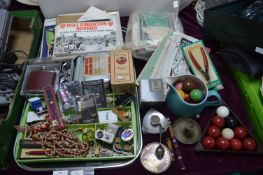 Tray Lot of Collectibles and Ephemera, Theater Pro