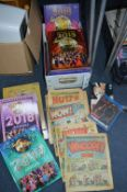Strictly Come Dancing Annuals, Vintage Comics, DVDs etc