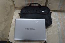 Toshiba Satellite Pro Laptop with Carry Case