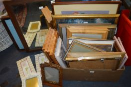 Large Quantity of Framed Pictures and Prints
