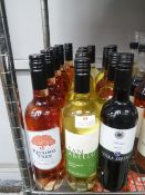 * 15 x bottles of wine - white, rose, red