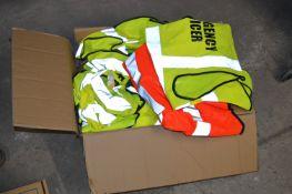 *Box of Hi-Vis Safety Vests
