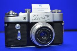 Zenit 3M SLR Camera with Industar-50 3.5-50 Lens