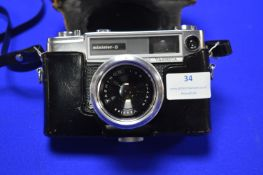 Yashica Minister-D SLR Camera with Yashinon 1:2.8 Lens