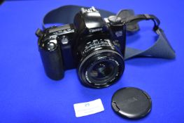 Canon EOS500 SLR Camera with Sigma Super Wide 1:2.8 Lens