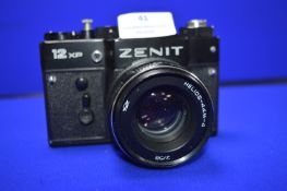 Zenit 12XP SLR Camera with Helios-44M-4 2/58 lens