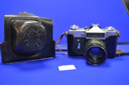 Zenit-E SLR Camera with Helios-44-2 2/58 Lens