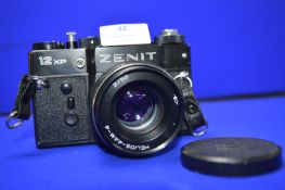 Zenit 12XP SLR Camera with =Helios-44M-4 2-58 lens