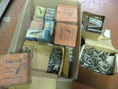 Box of Hinges, Expansion Anchors, Screw Anchors,