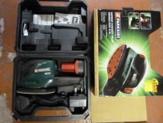 Parkside PAHS12A1 Battery Powered Palm Sander