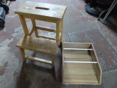 Step Stool and a Small Rack