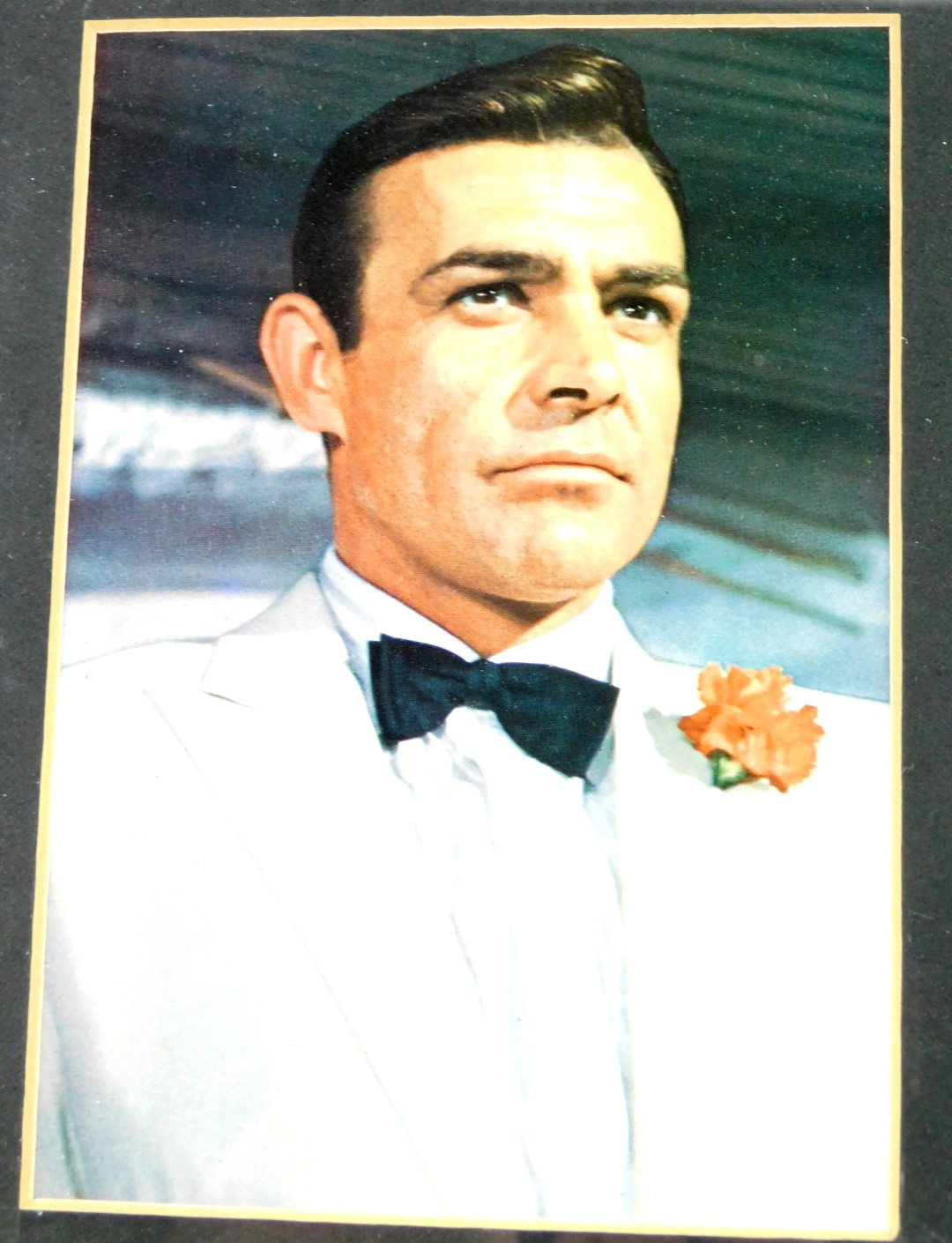 Lot 1 - Sean Connery & James Bond Interest. A framed Sean Connery autograph with photograph from the pre-