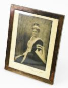 Douglas. A portrait photograph of Lady Allesandra Hailey, wife of Sir (later Lord) W M Hailey