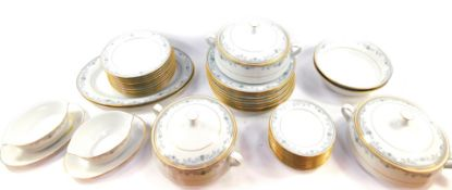 A Noritake porcelain part dinner service decorated in the Chatswood pattern, Contemporary Range,