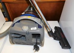 A Panasonic 2500 watt vacuum cleaner.