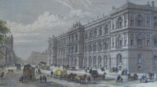 *Illustrated London News. The New Home and Colonial Offices, Parliament Street, Westminster, 22cm