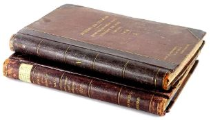 Inventory and valuation record books for Messrs Richard Hornsby and Sons of Grantham, dated 1878 and