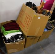 Various ladies fashion, shoes, boots, Russell and Bromley, various sizes, etc., (a quantity).