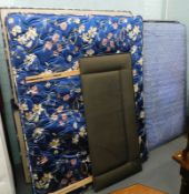 A Sealy double bed with quilted mattress,