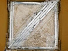 A Fairmont Park Sibylla metal framed side table, RRP £39.99.