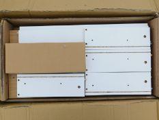 A Symple Stuff oak three drawer chest, RRP £49.99.